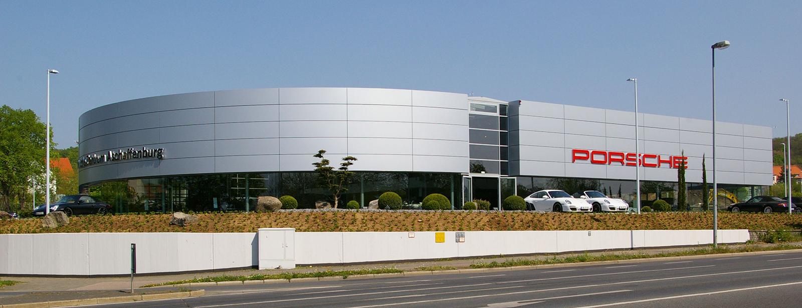 Porsche Zentrum Aschaffenburg 187 Herzlich Willkommen