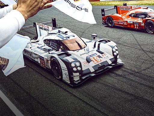 Der 919 Hybrid gewinnt die 24h von Le Mans 2015.